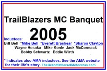 2005 Trailblazers B, Bell, M. Bell, Brashear, S. Clayton, Hosaka, Konle, McCormack, Schwartz, Wirth