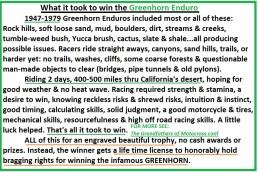 z Greenhorn What it took to win the Greenhorn