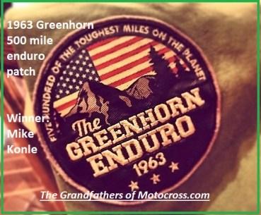 z23 1963 Greenhorn patch