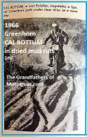 1967 C37c Greenhorn, CAL BOTTUM 4th, in 1966 Greenhorn dried mud ruts
