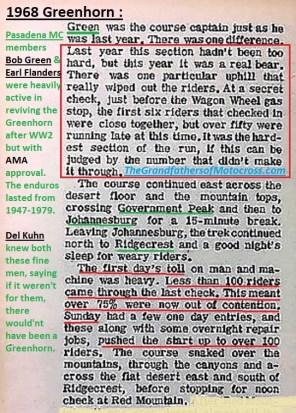 1968 a15 GH Bob Greene, Earl Flanders, Del Kuhn, loss 75 percent