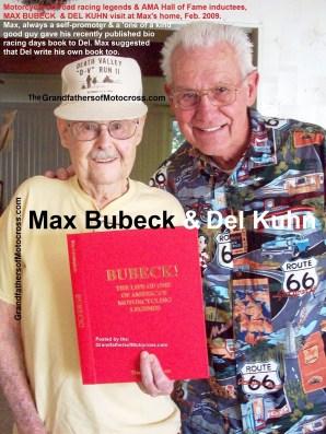 1968 s15 2009 AMA Hall of Fame , Max Bubeck & Del Kuhn