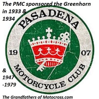 1968 s4 Greenhorn sponsored Pasadena MC