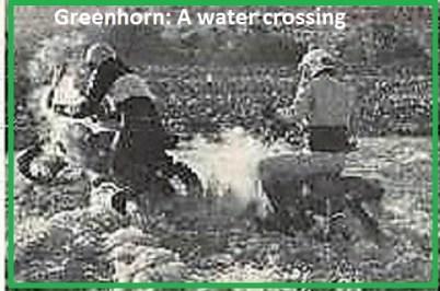 1969 Greenhorn M10b A water crossing