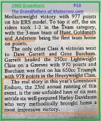 1969 Greenhorn P13 Dave Garrett, Gene Burcham, HD team was highlight