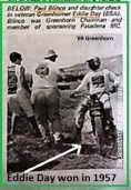 1969 Greenhorn P15 PMC checkers Paul Blimco & rider EDDIE DAY