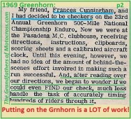 1969 Greenhorn b2 Carol Sims & Frances Cunningham PMC Checkers