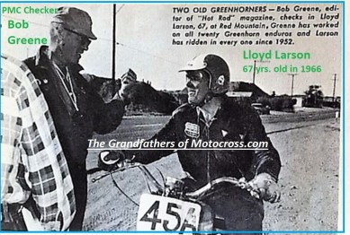 1969 Greenhorn b4c BOB GREENE PMC official & organizer