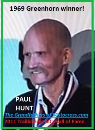 1969 a1b Greenhorn winner Paul Hunt in 2011