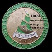 1969 a4 Greenhorn pin but not verified yet