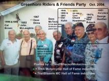 1969 s11 Greenhorn 2004 former winners, D. Kuhn, C. Howseman, Bubeck & 2nd Gunther
