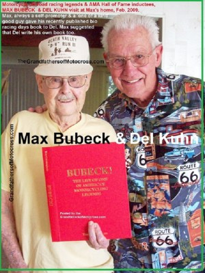1969 s15 in 2009 AMA Hall of Fame , Max Bubeck & Del Kuhn