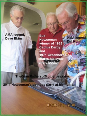 1969 s16 In 2011 Racing legends, Bud Howseman, Dave Ekins & Del Kuhn