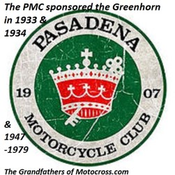 1974 a3 Greenhorn sponsored by Pasadena MC