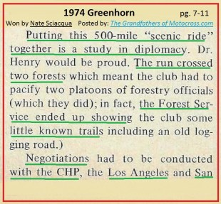 1974 a34 PMC Greenhorn planning a lot of work w authorities, CHP
