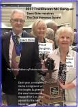 2017 a6 TrailBlazers Dick Hammer Award to Dave Ekins & family present