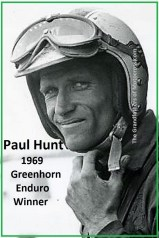 1970 Greenhorn b38 former WINNER Paul Hunt disqualified, lost time card