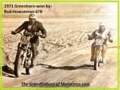 1971 Greenhorn a14 Howseman, Chuck 'Bud' from his personal scrap book