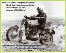 1971 Greenhorn a3b winner Bud Howseman number 47B
