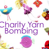Charity Yarn Bombing 2015 - Part 1