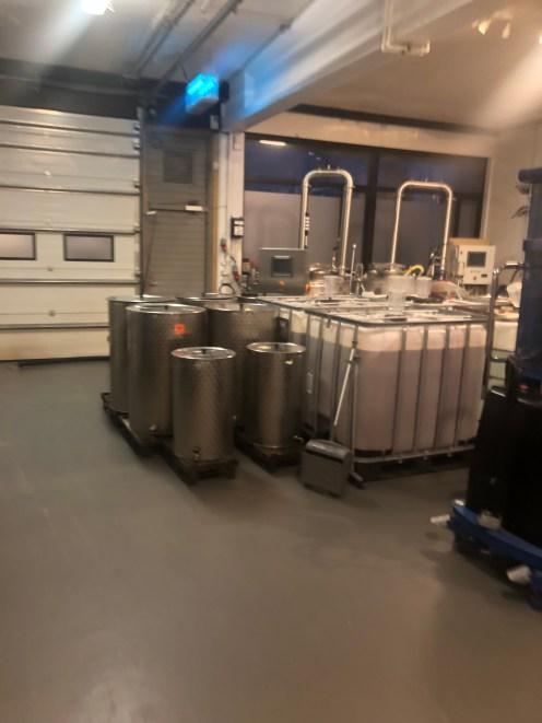 Ethanol tanks