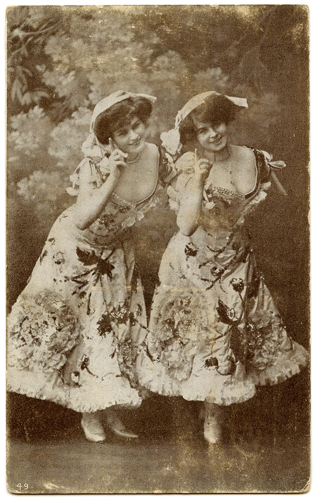 Old Photo Fancy Dancers The Graphics Fairy