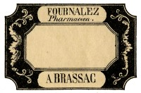 label frame halloween