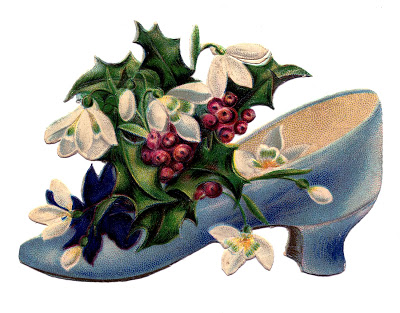 Shoes With Flowers Archives The Graphics Fairy