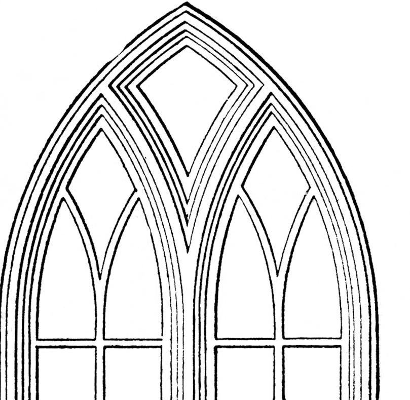 Halloween Windows Gothic