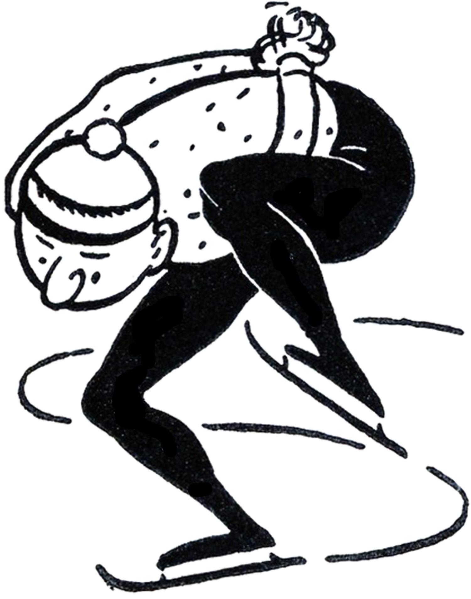 Vintage Ice Skating Images