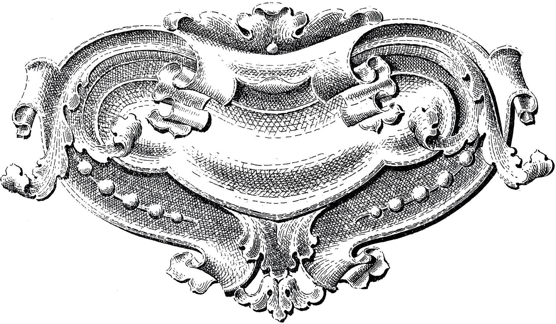 Vintage Baroque Ornament Image