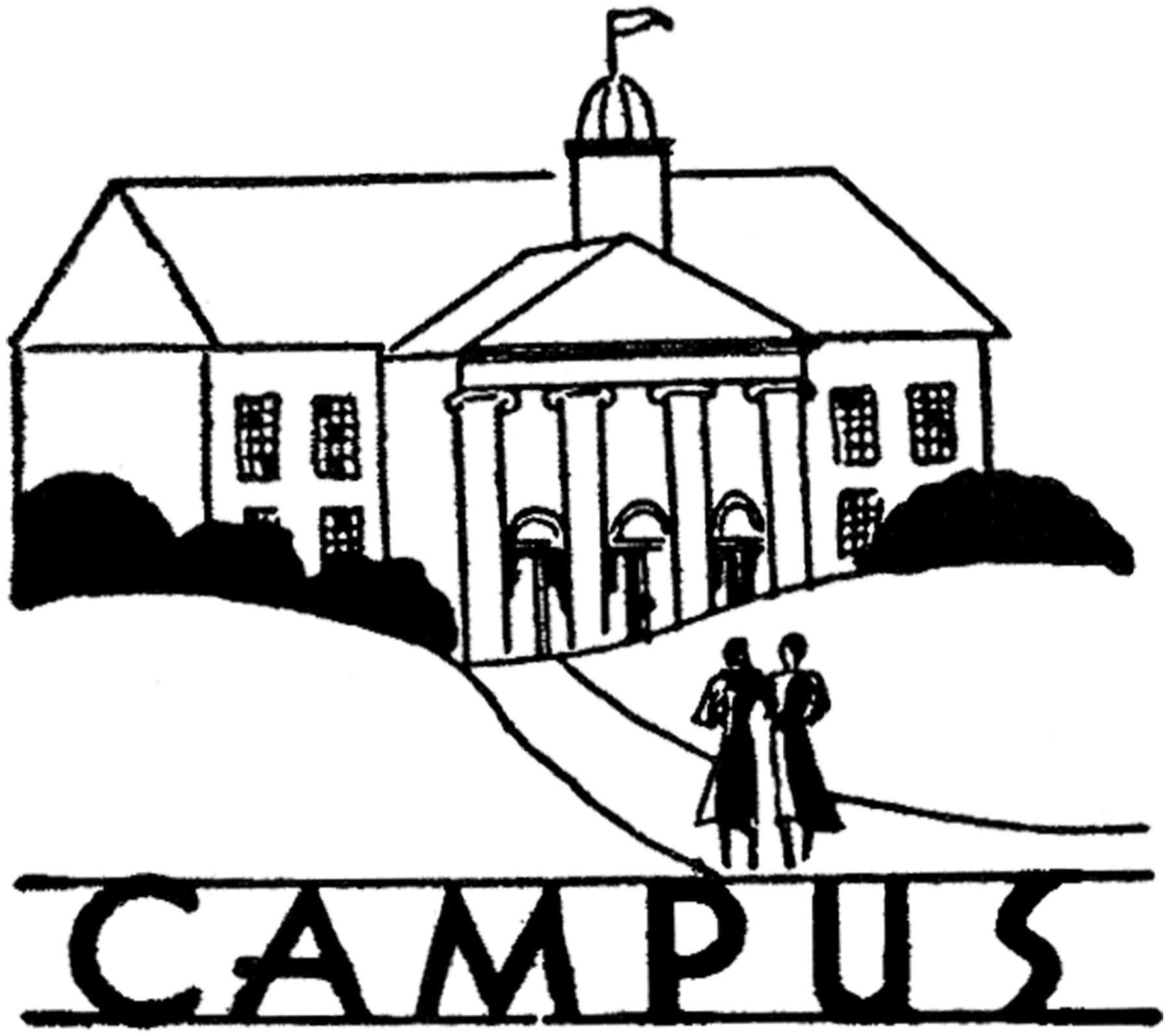 Vintage College Campus Image