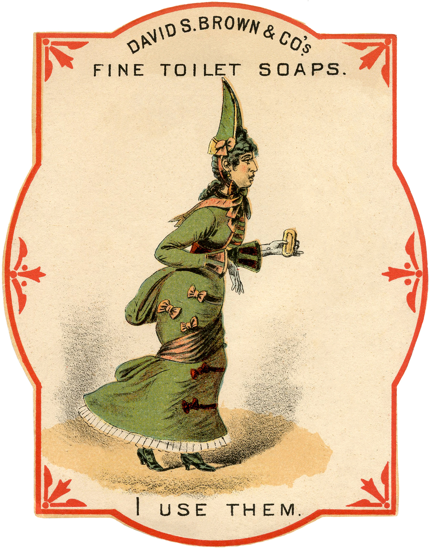 Quirky Vintage Toilet Soap Ad The Graphics Fairy