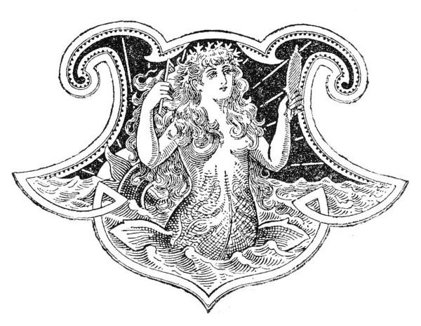 10 Mermaid Clip Art Images! - The Graphics Fairy
