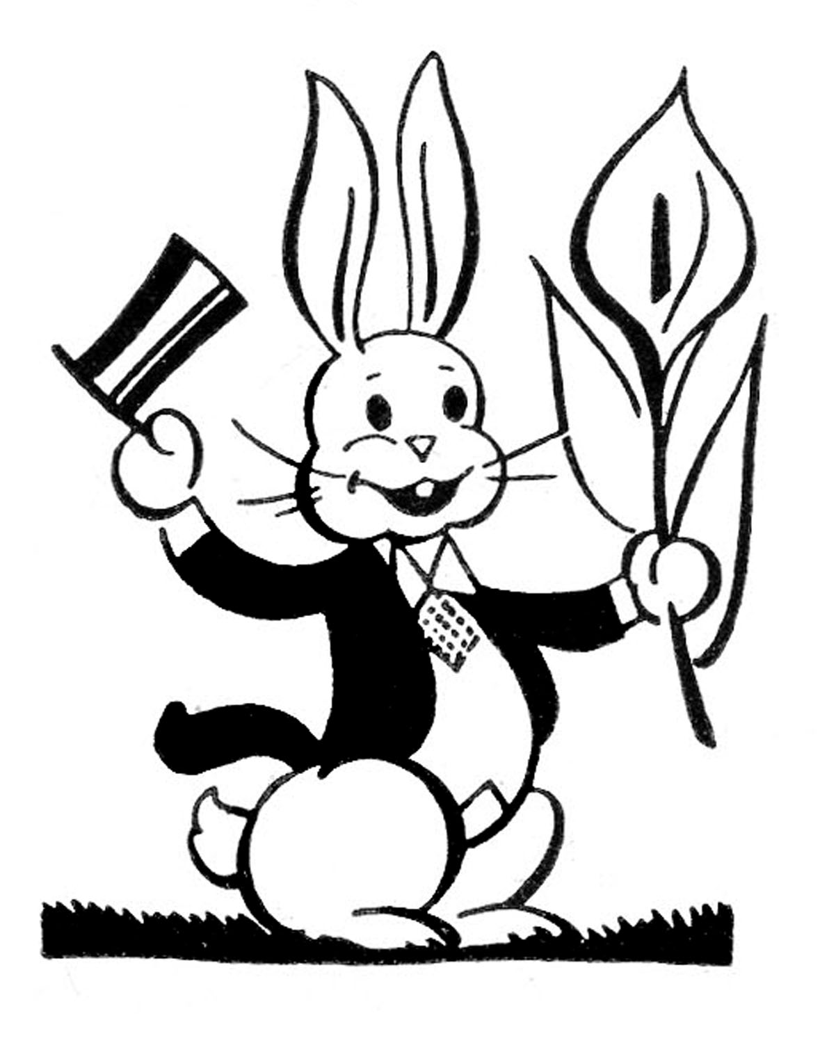 20 Bunny Rabbit Silhouettes And Clip Art
