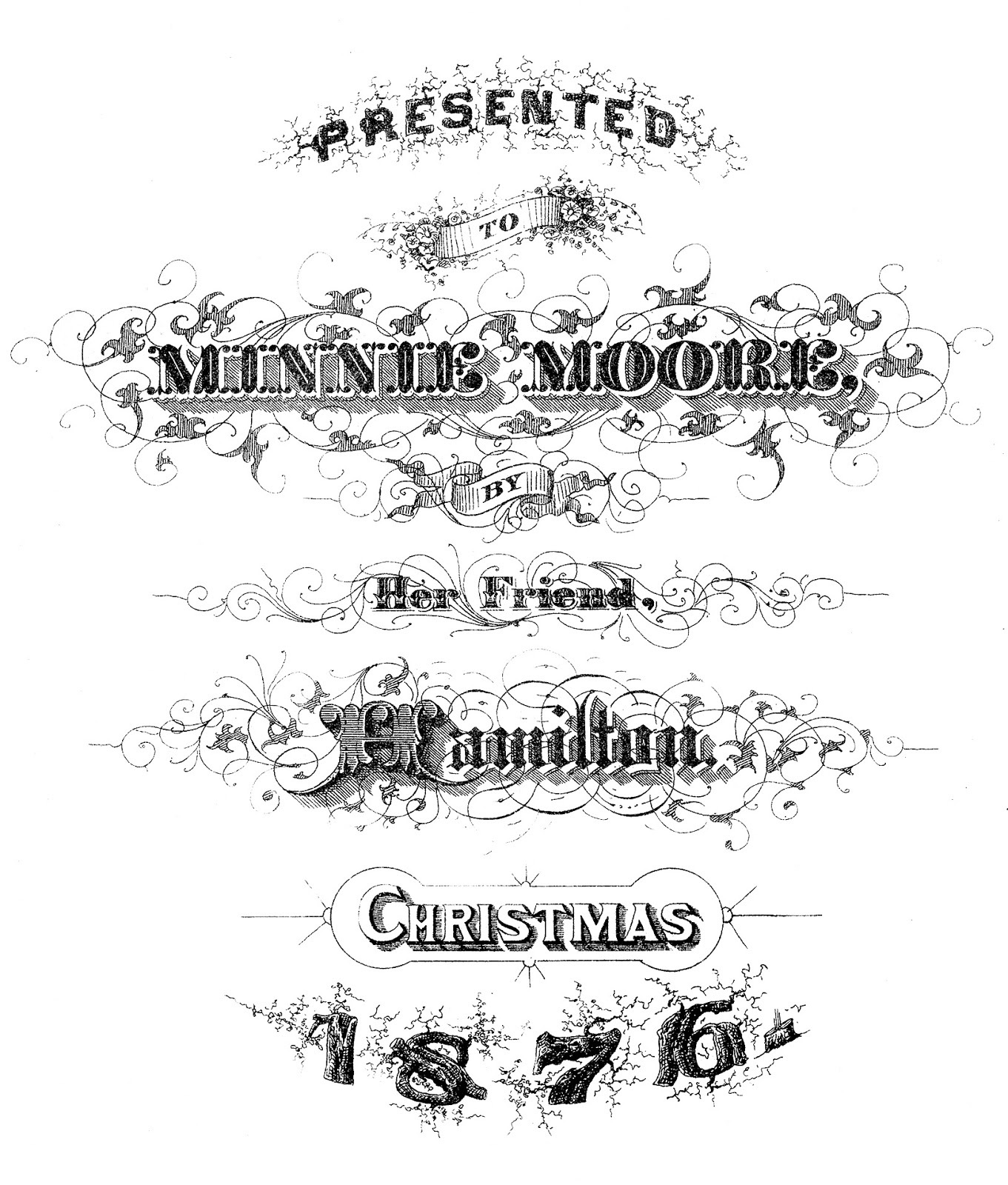 9 Christmas Ephemera Images