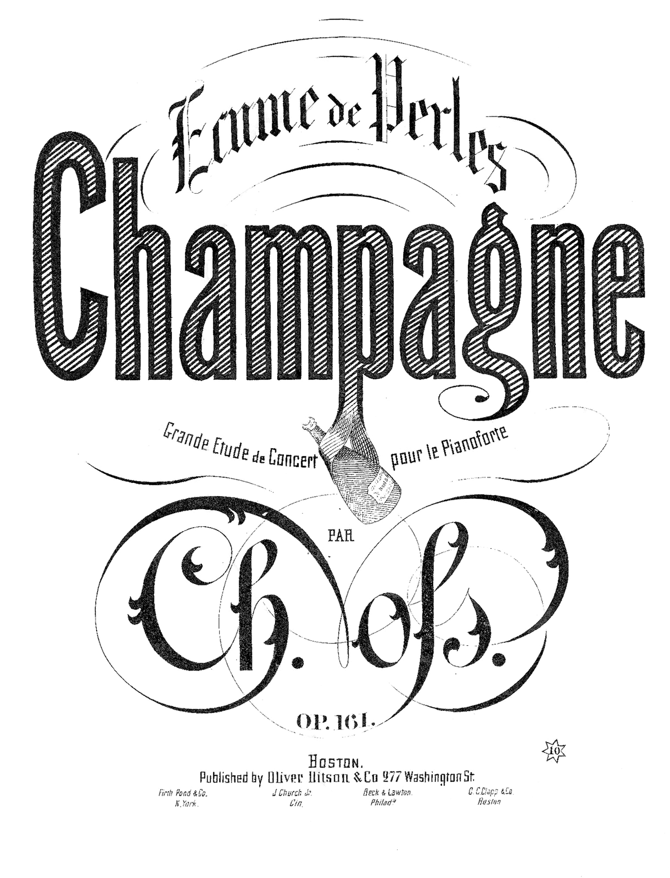 5 Champagne Clipart