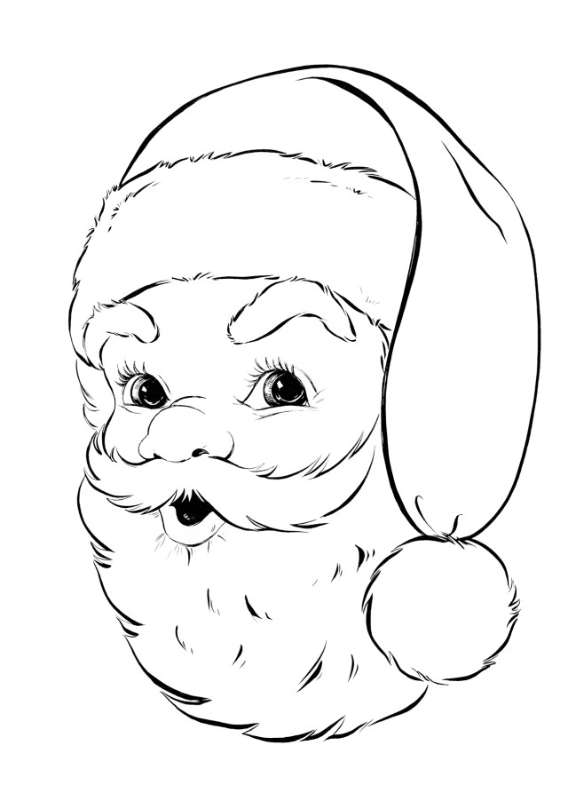 14 Free Printable Christmas Coloring Pages! - The Graphics Fairy