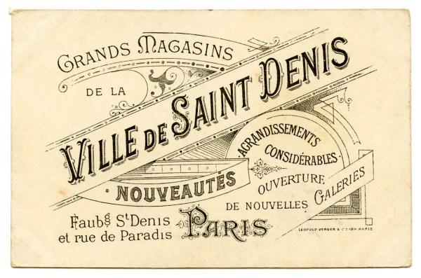Vintage French Graphic - Amazing Paris Ephemera - The ...