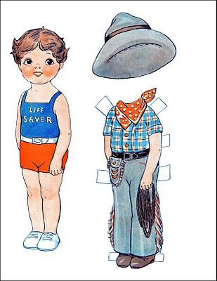 http://thegraphicsfairy.com/vintage-kids-printable-cowboy-paperdoll/
