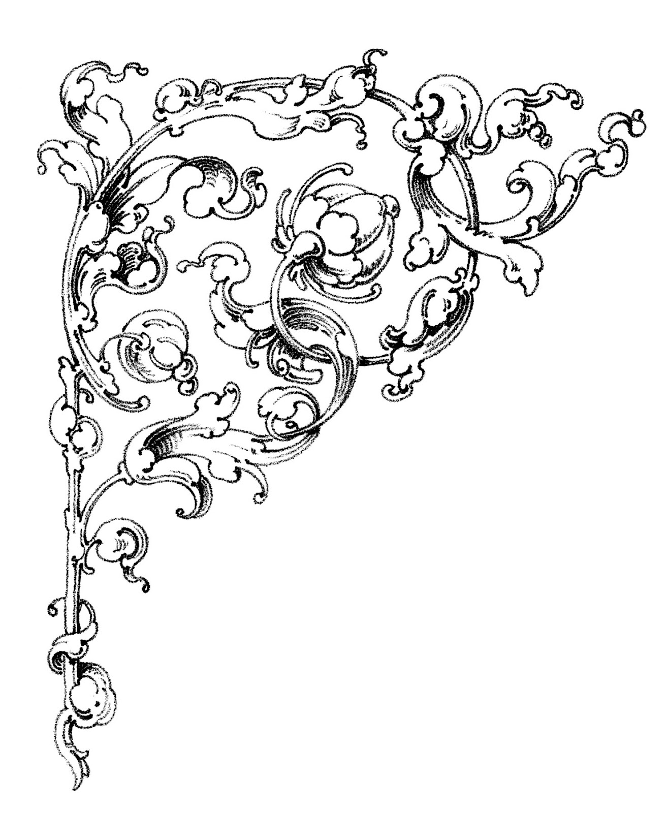 Dreamy Romantic Scrolls