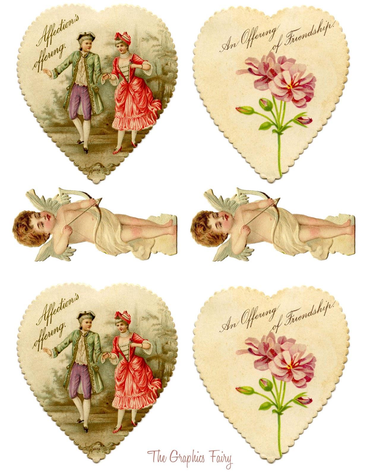 Vintage Valentine Printable