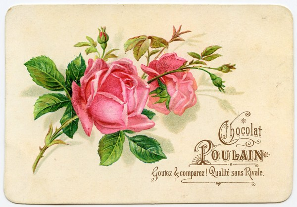 Vintage Graphic - French Roses - The Graphics Fairy