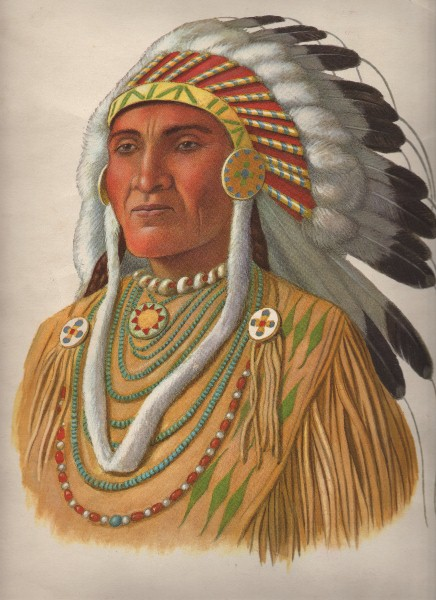 Native American Indian Chief The Graphics Fairy