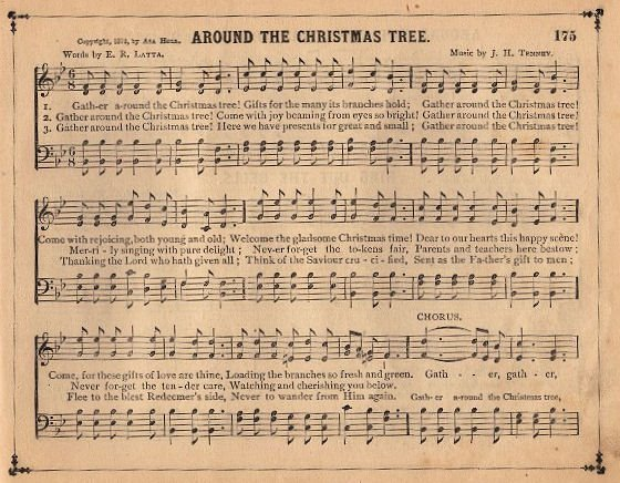 Vintage Graphic Christmas Sheet Music The Graphics Fairy