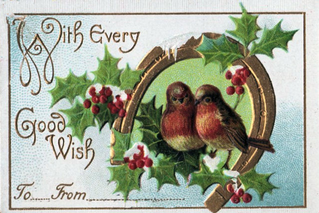 Victorian Gift Tag Little Birds The Graphics Fairy