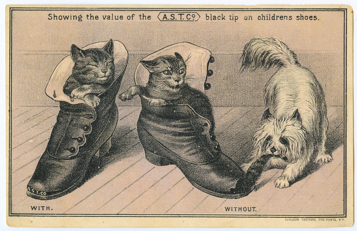 Free Vintage Clip Art Cats Dog And Shoes The Graphics