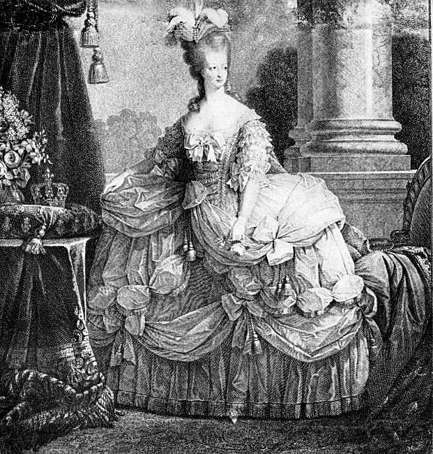 Marie Antoinette The Graphics Fairy
