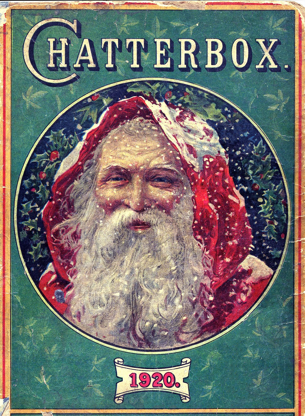 Vintage Christmas Classic Victorian Santa The Graphics