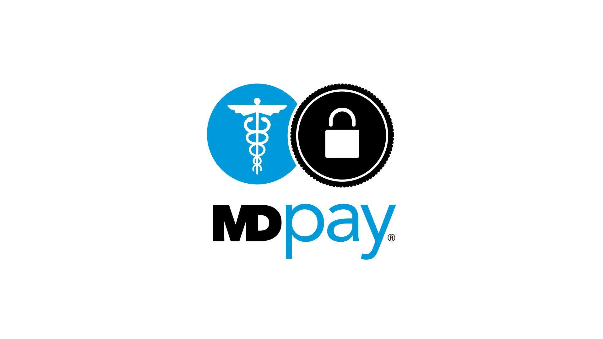 MDpay Logo Design